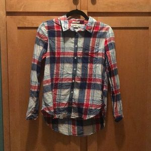 Tops - 100% cotton Flannel style button up